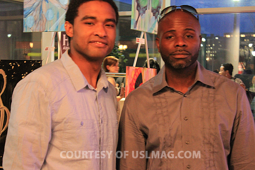 August Mapp of Style&Beats TV & Patrick Kelly, Editor-In-Chief at USL Magazine