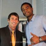 Burt Weiss of Q100's The Burt Show & August Mapp of Style&Beats TV