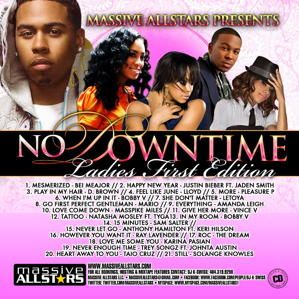 DJ K Swiss No Downtime Ladies First Edition