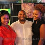 Friend, Lentheus Chaney of Urban Lux Magazine and Lillie Mae of Lillie Mae PR at Powerpreneur