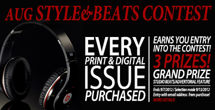 usl magazine, uslmag.com, Beats By Dre, usl magazine august Contest, usl mag aug contest, willie tayylor of day 26, willie taylor, day 26, jon bonus, dan hannon, make it happen management, bigg von