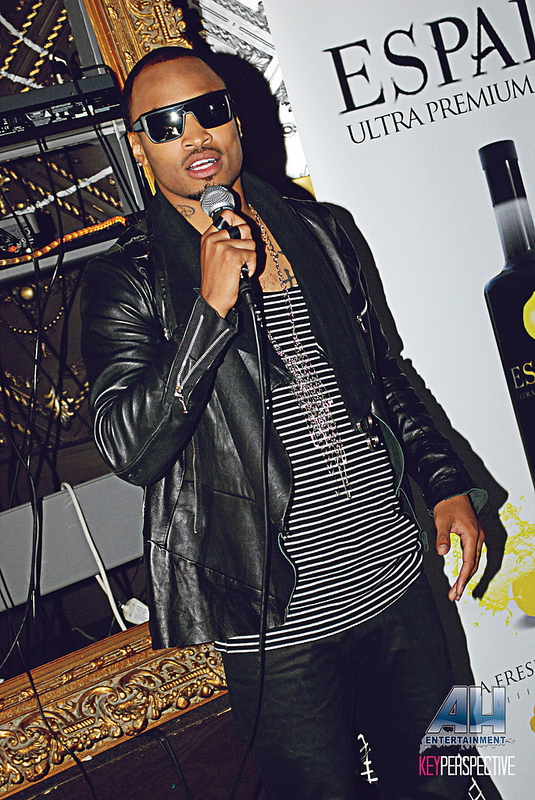 Anthony Q, Sunshine Anderson Event, usl magazine, sept 2012 issue