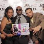 Aug M, Christina Fernander (@MI3AGENCY), USL Magazine's Editor-In-Chief - Patrick Kelly, Javar Young (MI3AGENCY) & Rap Artist Kalii Kal