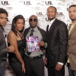 Aug M, Christina Fernander (@MI3AGENCY), USL Magazine's Editor-In-Chief - Patrick Kelly, Je' Wesley Day -owner of Organix Lounge & Javar Young (MI3AGENCY)