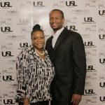 Autumn Bailey & Je' Wesley Day - Owner of Organix Food Lounge @ USL Magazine's Issue Release Party