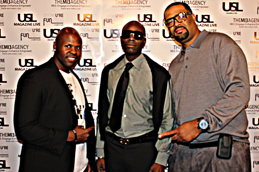 @ USL Magazine's Issue Release Party, magnedo7, bigg von, make it happen management