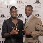 Int'l Producer Papa of PapaRoc and Friend @ USL Magazine's Issue Release Party