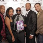 Jamaal Smith, Christina Fernander (@MI3AGENCY), USL Magazine's Editor-In-Chief - Patrick Kelly, Je' Wesley Day -owner of Organix Lounge & Javar Young (MI3AGENCY)