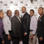 Je' Wesley Day (Middle) and his Alpha Brothers @ USL Magazine's Issue Release Party