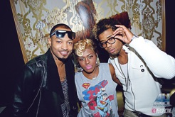 Lil Mo, Cori Sims, Anthony Q, Sunshine Anderson, aurum lounge, usl magazine, sept 2012 issue