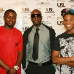 Rapper Prohaize, Patrick Kelly - Editor-In-Chief of USL Magazine and Friend
