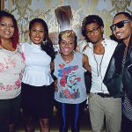RobinS, Sunshine Andersone Lil Mo, Cori Sims and Anthony Q, aurum lounge, usl magazine, sept 2012 issue