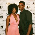 USL Magazine's Top Models Kenya Thomas and Kellen Marcus @ USL Magazine's Issue Release Party