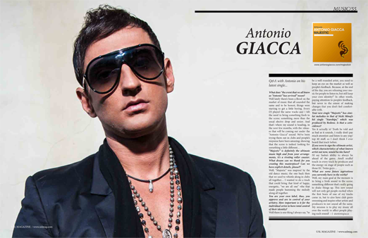 EDM Producer Antonio Giacca