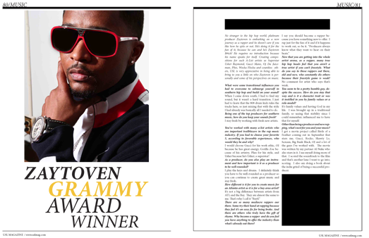 Grammy Winning Producer Zaytoven