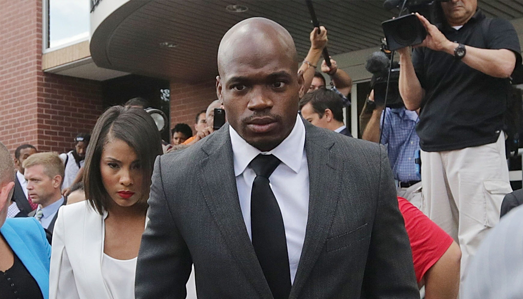 NFL suspends Adrian Peterson for at least rest of season