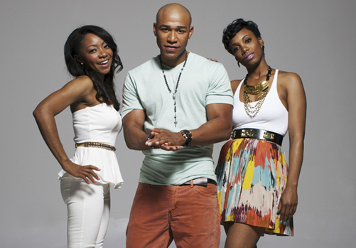 Blue Kimble And The Cast Of Tha Music Factory Tv Show