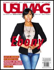 USL Magazine July-August - Ebony Steele