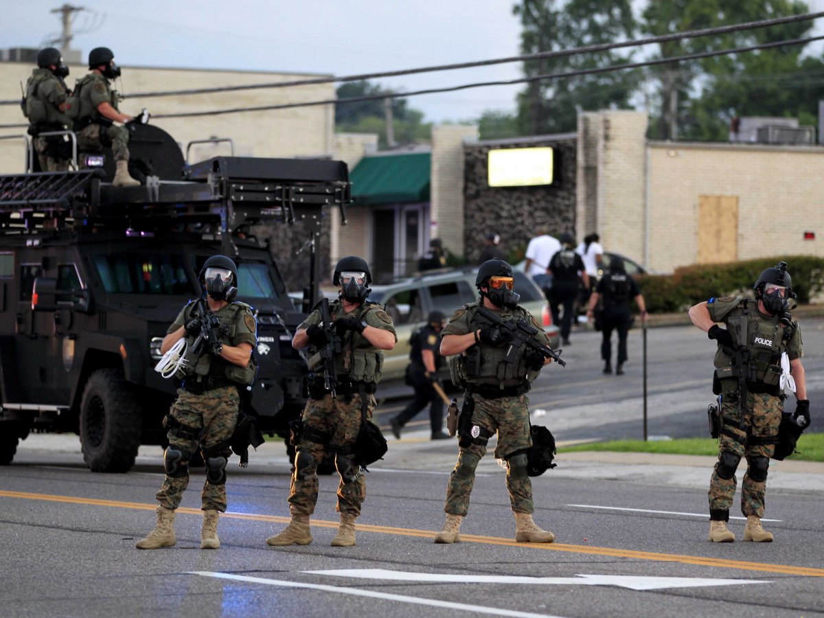 Racial Differences On Display In Reaction To Mike Brown's Death